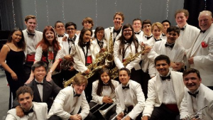 Singing w/the P.S.H.S. Jazz Band @ DOHC's FREE concert for the community Nov. 9 @ the new Richards Performing Arts Center @ PSHS