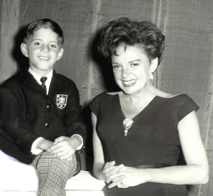 Judy Garland and Joey Luft