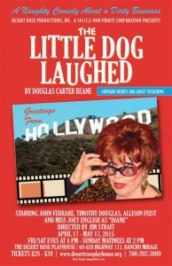 LITTLE DOG Poster