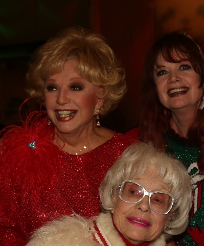 12/4 Ruta Lee, Joey and Carol Channing at ACT for MS (photo by Pat Krause)