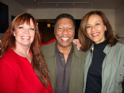 Marilyn McCoo and Billy Davis, Jr. on the show promoting their appearance on the 1/21 at the McCallum Theatre.