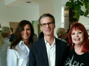 Kim Waltrip, David Ready - @ The Actor's Fund April 27