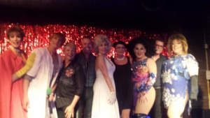 Photo of Thursday night drag show