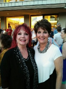 """One Night Only"" 4/19 cast party at Helene Galen's. Lucie Arnaz"