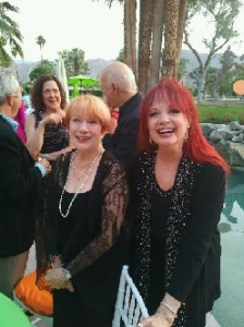 """One Night Only"" 4/19 cast party at Helene Galen's w/Nancy Dusseult"