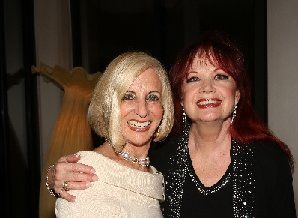 """One Night Only"" 4/19 cast party w/ amazing hostess Helene Galen. Photo by Pat Krauss."
