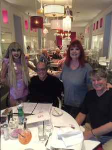 Dinner at 849 w/Karen and Tony Barone and Jim Rider May 5, '16