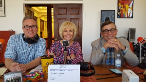 P.S. Radio Segment w/Steve Henke, Desert Sun Media Group; Nona Watson, Pres. P.S. Chamber and His Honor, Mayor Robert Moon.