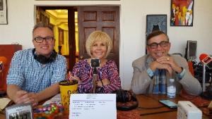 P.S. Radio Segment w/Steve Henke, Desert Sun Media Group; Nona Watson, Pres. P.S. Chamber and His Honor, Mayor Robert Moon.