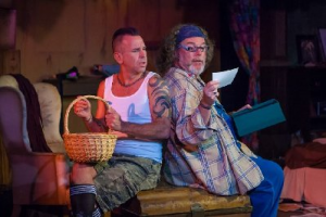 I loved the World Premier of Junk @ the Desert Rose Playhouse, May 29 starring Jim Strait & Robbie Wayne.