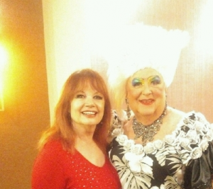 "The fabulous Maude Chapeau @ D.A.P.s ""Queen of the Desert"" June 1. (photo courtesy of Jim Rider)"