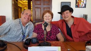 Dr. Brian, Helene, and Shepherd