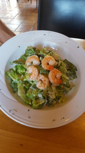 Photo of the Caesar salad w/ shrimp (Joey's favorite)