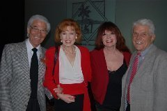 Mel, Melinda Read, Joey and the late Frankie Randall