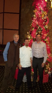 "Dec. 14 - Interview w/Greg, Chef Frank and owner John @ ""Peaks"" at the Tram"
