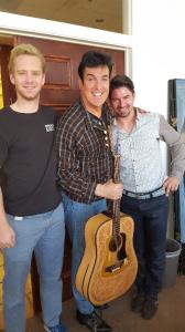 "Cody, ""Elvis"" and Massimo"