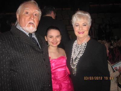 Marty Ingels, Shelbey Mae, and Shirley Jones at PSWIFT Broken Glass Awards